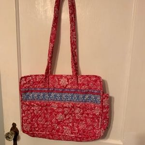 J. Clayton quilted diaper bag NWT